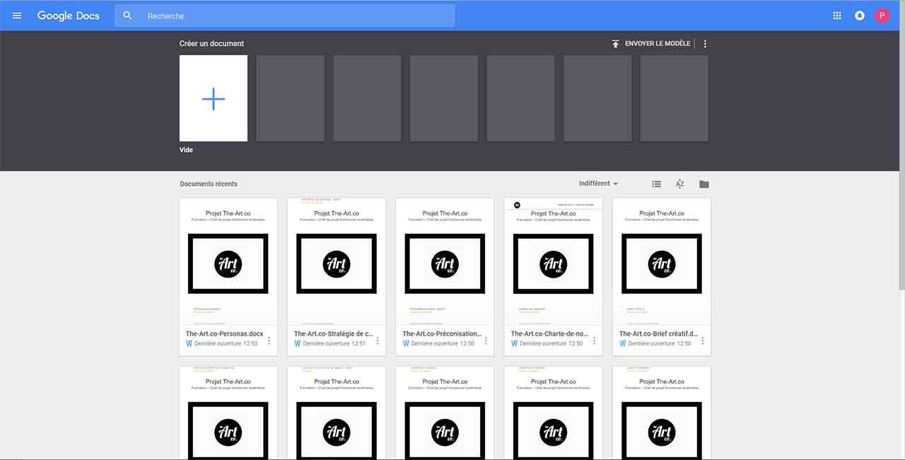 Google G Suite - Docs